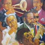 My Song (2011, 100 x 120 cm)