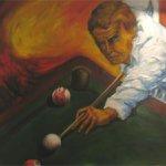 Billard (110 x 130 cm)