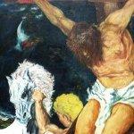 Kreuzigung (2001, 130 x 150 cm)