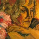 Frauenbildnis (2007, 110 x130 cm)