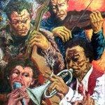 Sounds (2001, 110 x 130 cm)