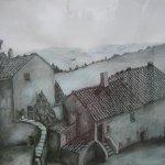 Bauernhaus Toscana (2010, 50 x 70 cm)